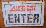New! - Enter sign