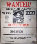 Wanted Poster - 1963