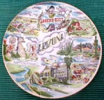 Arizona souvenir plate