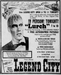 Ted Cassidy appearance ad